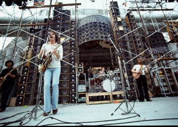 Nella foto il gruppo musicale rock statunitense Grateful Dead.